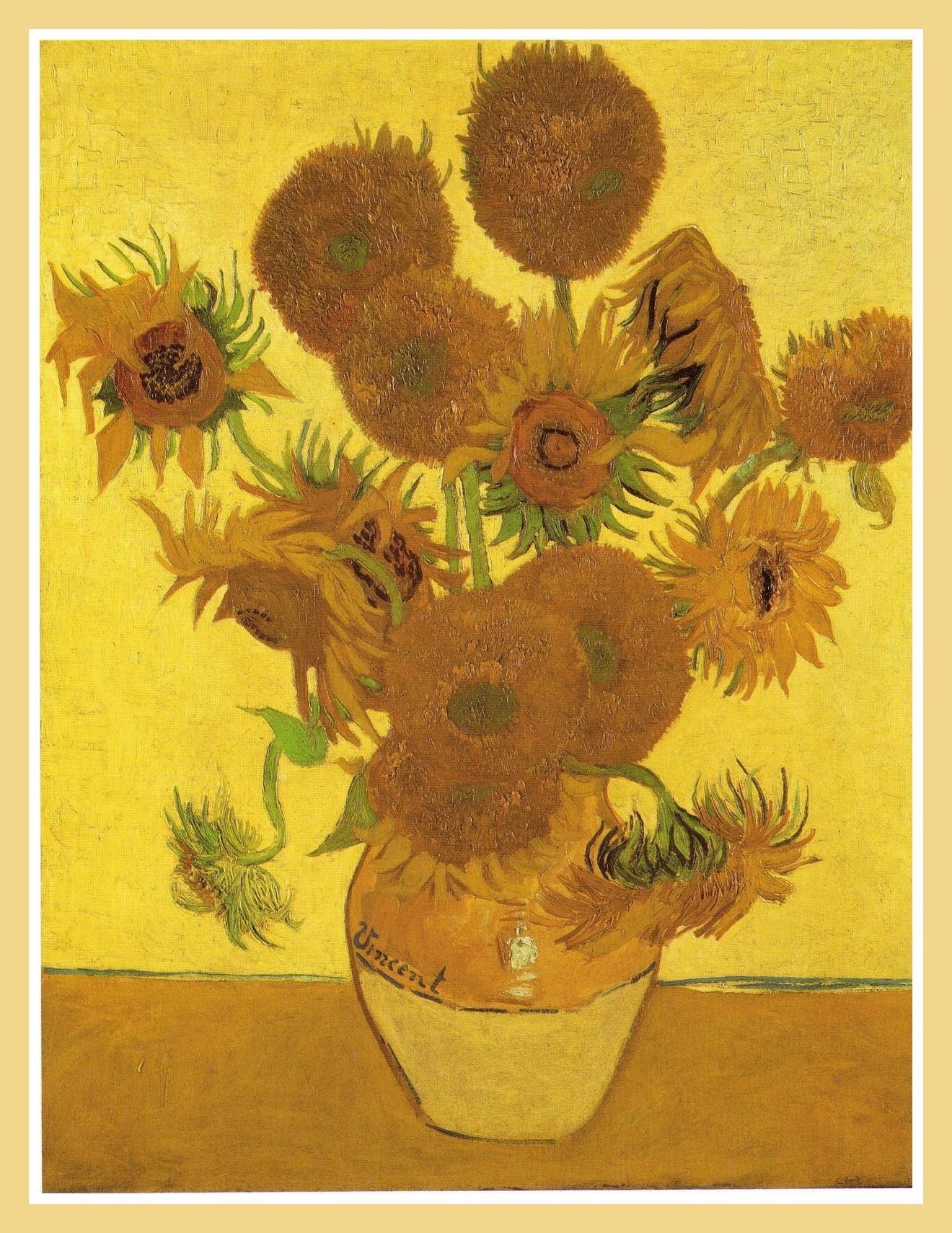 Matrimonio Girasoli Van Gogh : Girasoli van gogh la serie di fiori più famosa sempre