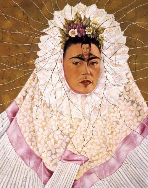 Frida Kahlo quadro Diego nella mia mente