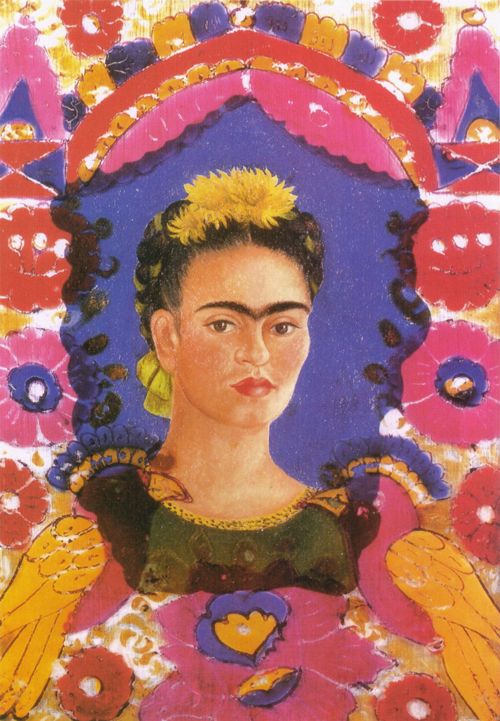 The frame Frida Kahlo