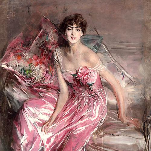 Giovanni Boldini La signora in rosa (Ritratto di Olivia de Subercaseaux Concha), 1916