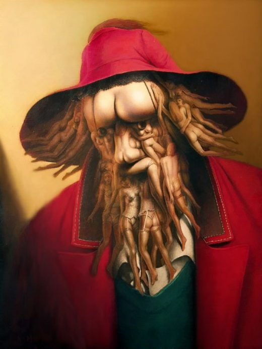 André Martins de Barros painting