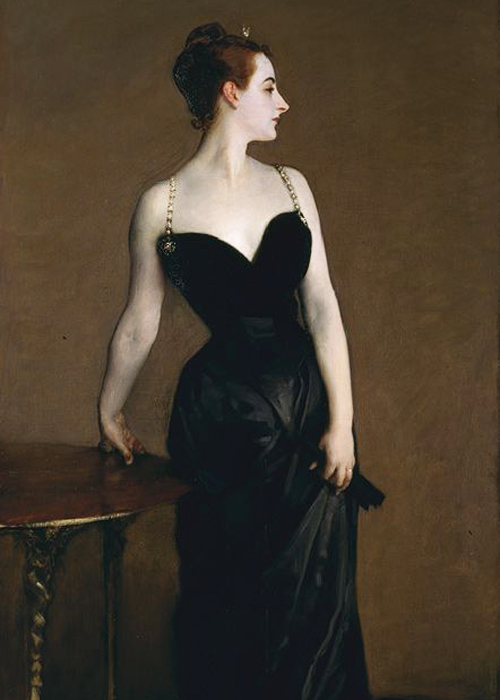 John Singer Sargent black dress