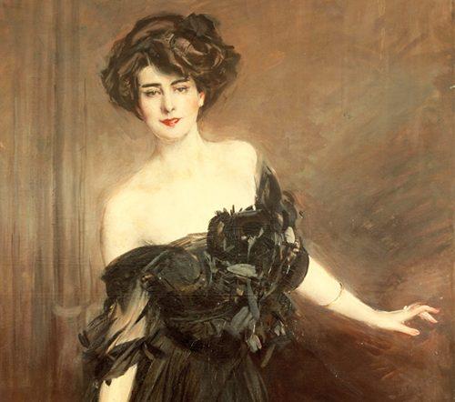Boldini Giovanni Madamoiselle De Nemidoff