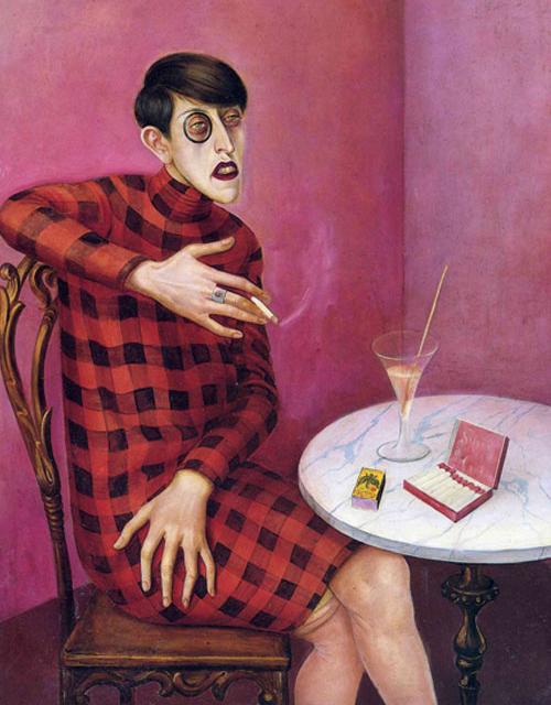 Ritaratto di Sylvia von Harden Otto Dix