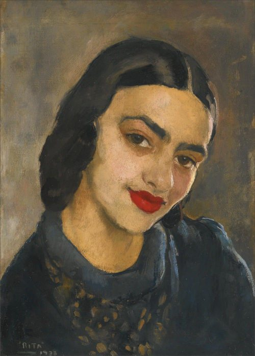 Amrita Sher-Gil Frida Kahlo indiana autoritratto