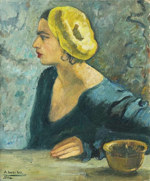 Amrita Sher-Gil opere quadro