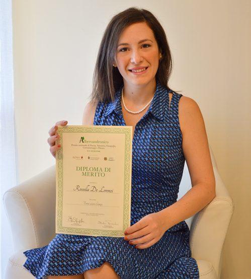 Rossella De Lorenzi Premio Alberoandronico XIV Edizione Roma